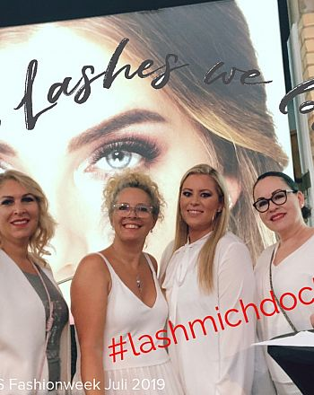 Luxuslashes Fashionweek Juli 2019