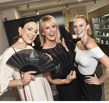 LUXUSLASHES® Lounge München Eröffnung, Nicki Balogh