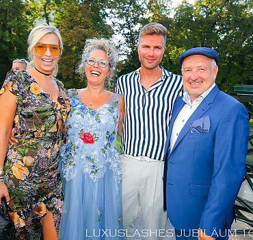 Luxuslashes, Jubiläum, Palais Schönburg , Andre Borchers, Verena Kerth